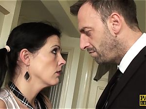 euro slave dominated with tough anal invasion punishment
