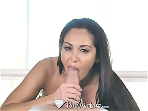 PureMature oiled up massage boink with milf Ava Addams