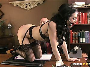 Veronica Avluv gets filthy in the office and her manager finds out