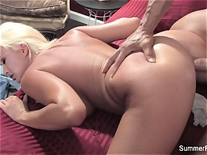 Summer Brielle gets a supreme humping from Nick Manning