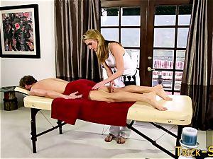 chisel riding masseuse babe