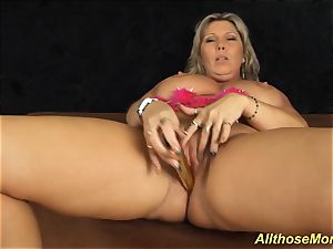 My thick melon super-naughty mother alone at home