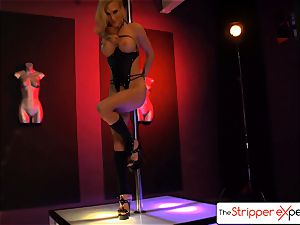 The StripperExperience- Sarah Jessie ravaging a ample lollipop