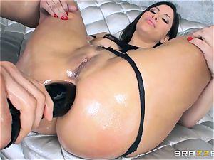 Alexa Nicole gets ass ass-plug and man rod in her super hot caboose