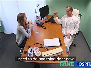FakeHospital medic creampies fantastic tight cootchie